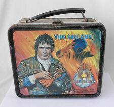 Vintage Metal Lunchbox: The Fall Guy~~Made by Aladdin Industries