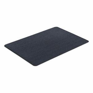 VersaTex 24 x 36 Inch Multipurpose Black Vinyl Recycled PVC Utility Mat, Black