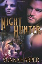 NIGHT HUNTER by Vonna Harper EROTIC PARANORMAL ROMANCE ~ SAMHAIN ~ OOP & VHTF