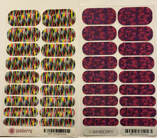 Jamberry 2 Full Sheets Confused Canvas And Run The Show