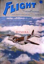 de Havilland 'MOSQUITO' Bomber Airplane Print - WW2 1942 'Flight' Magazine Cover