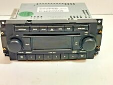 OEM DODGE CHRYSLER JEEP AM FM Radio CD Disc Player with AUX IN STEREO RECEIVER
