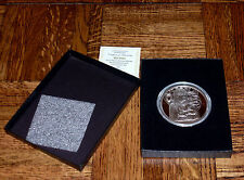2015 PEACE 5 OZ PROOF ONLY 105 MINTED SILVER SHIELD .999 FINE SILVER COA