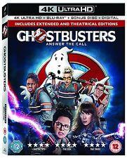 Ghostbusters 2-Disc 4K Ultra HD & Blu-ray [2016] New & Sealed