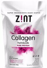 Beef Collagen Powder (10oz): Grass-Fed Hydrolyzed type 1 & 3 Peptides
