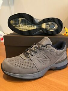 New Balance Men Running M2040GL3 Limited Edition Gray Suede Made In USA Dc 7 2E