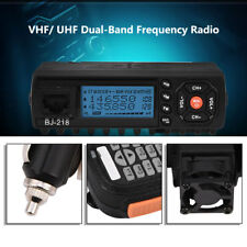 Car Mobile VHF/UHF Dual-Band Radio Transceiver Walkie Talkie 136-174/400-470MHz