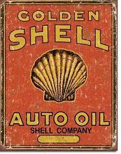 Shell Blechschilder