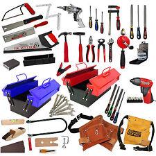 echtes Werkzeug für Kinder Säge Hammer Laubsäge Werkzeuggürtel Werkzeugkasten