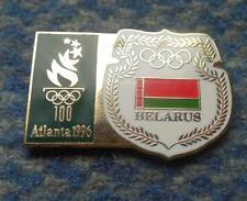 NOC BELARUS OLYMPIC ATLANTA 1996 PIN BADGE