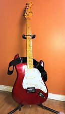 SX Vintage Series Strat Electric Guitar Custom Handmade - Cherry Red