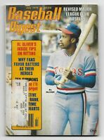 July 1979 issue of Baseball Digest-Al Oliver Cover