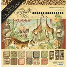 Deluxe Collectors Edition SAFARI ADVENTURE Collection Kit Graphic 45 4502022 New