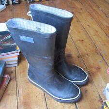 Adidas Originals Wellies Boots Navy Blue + White Unisex UK 5 EU 38