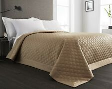 Stone Quilted Reversible Bedspread/Comforter