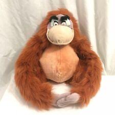 Disney Jungle Book King Louie Orangutan Plush Stuffed Animal 14 inches