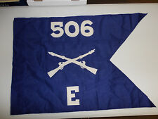 flag934 WW2 US Army Airborne Guide on 506 Parachute Infantry Regiment E Co W9D