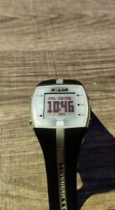 Pre-owned Polar FT7  Black & silver  Digital sports watch monitor . Watch only