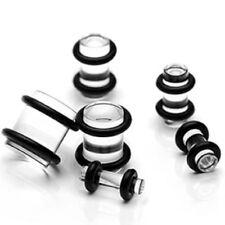 Piercing Dehner Plug expansor claro 6er set acrílico (plástico)