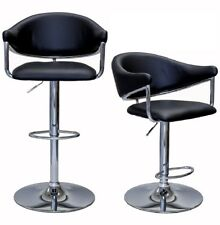 ViscoLogic AIRSTREAM Adjustable Height Swivel Bar Stool (Set of 2 Stools)