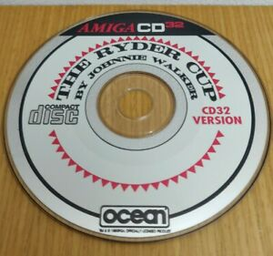 Amiga CD 32 Ryder Cup by Johnnie Walker Golf Game Disc Only Ocean Commodore