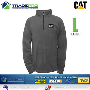 Caterpillar CAT® Workwear Active Soft Shell Work Jacket Tradies Black & 1/4 Zip