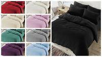 Luxury Teddy Bear Sherpa Fleece Thermal Warm Extra Soft Cosy Winter Beddings