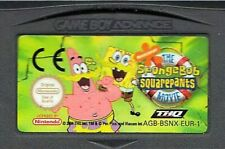 Gameboy Advance Spongebob Squarepants The Movie AGB-BSNX-EUR1 (See Pic)