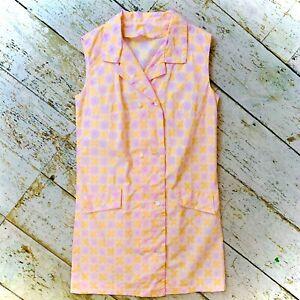 Vintage 1960's Deadstock Mini Dress Size 10