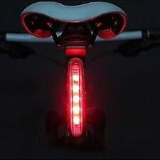 Bicicleta Bici Súper Brillante 5 LED Posterior Luz Trasera 4 Modalidades luz