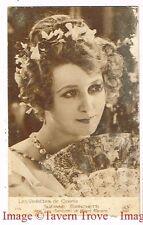 Rare 1925 Suzanne Bianchetti Silent Movie Star LES AVENTURES DE ROBERT MACAIRE