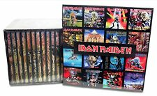IRON MAIDEN 15 CD Box Set lot - NEW & SEALED! + 21 magnets!  Ships from the USA!