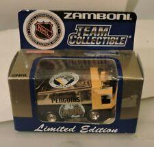 2000 Pittsburgh Penguins 1:50 ZAMBONI WHITE ROSE COLLECTIBLES LMT. ED. RARE