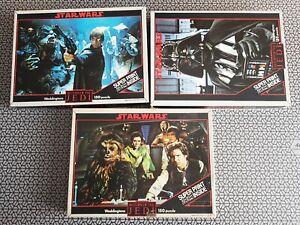 Star Wars - Return of the Jedi - set of 3 Jigsaws