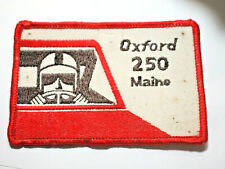 Oxford 250 Racing Patch Badge