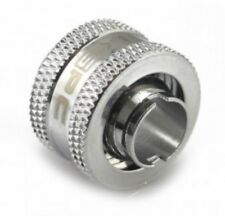 XSPC Coin Fit G1/4 to 3/8 ID 1/2 OD Compression Fitting - Chrome - V2