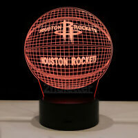 Houston Rockets James Harden Russell Westbrook LED Light Lamp Collectible Gift