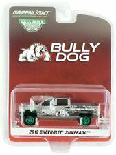 """GREENLIGHT 1/64 2018 CHEVROLET SILVERADO PICKUP TRUCK """"BULLY DOG""""   30084 chase"""
