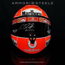 MICHAEL SCHUMACHER 2004 SIGNED Autographed Helmet F1 Display Visor (A2)