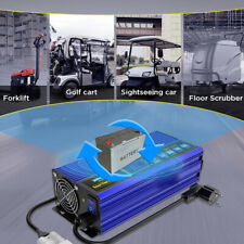 More details for forklift battery charger 24v 30a golf cart floor scrubber smart fast charger