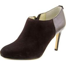 Michael Kors Size 9 M Sammy Coffee Brown Suede Ankle BOOTS Womens Shoes
