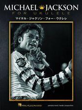 Michael Jackson Collection for Ukulele Sheet Music Book