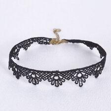 Women's Vintage Retro Collar Necklace Black Lace Flower Choker Punk Jewelry Gift