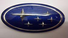 Subaru Legacy Forester Blue STI Wrx Grille Badge Emblem
