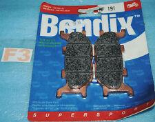2 plaquettes de frein Av BENDIX Yamaha TMAX 500 FZ6 600 FAZER MT03 XJ6 diversion