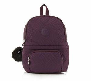 Kipling Sirod Premium Backpack - Dark Purple RRP £
