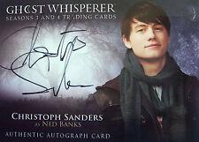 Ghost Whisperer Seasons 3 & 4 Autograph Christoph Sanders G3&4A-CS