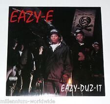 """EAZY-E - EAZY-DUZ-IT - DOUBLE 12"""" VINYL LP RECORD w/ BONUS TRACKS - SEALED, MINT"""