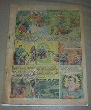 WORLD'S BEST COMICS #1  DC GOLDEN AGE 1941  SUPERMAN BATMAN  ZATARA  INCOMPLETE