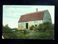 1908 Commodore Oliver Perry Birthplace Matunuck RI post card